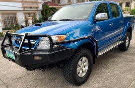 Sell Blue 2006 Toyota Hilux in Parañaque