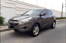 Grey Hyundai Tucson 2007 for sale in Quezon City