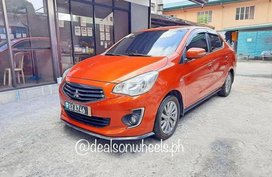 Selling Orange Mitsubishi Mirage g4 in Marikina