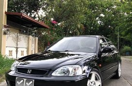Selling Black Honda Civic 1998 Wagon (Estate) in Manila