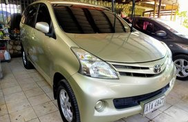 Gold Toyota Avanza for sale in Pasig