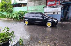 Black Hyundai Getz for sale in Manila