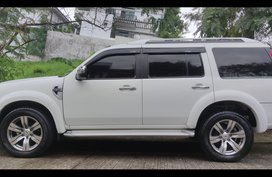 Sell White 2012 Ford Everest in Taytay