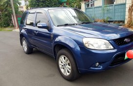 Blue Ford Escape 2011 for sale in Quezon City