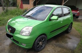 Selling Green Kia Picanto 2006 in Manila