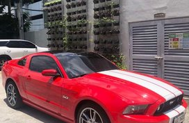 Red Ford Mustang for sale in Manila