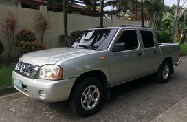 Silver Nissan Frontier for sale in Bacolod City