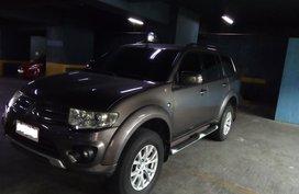2014 Mitsubishi Montero Spt GLX SUV M/T Quartz Brown