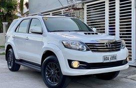 2015 Toyota Fortuner 2.5G