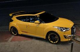 Sell Yellow Hyundai Veloster in Manila