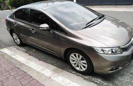 Selling Beige Honda Civic 2012 in Muntinlupa
