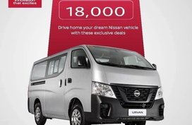 Silver Nissan Urvan for sale in Marilao