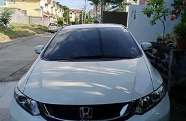 Orchid White Pearl 2015 Honda Civic For Sale with warranty for a good price