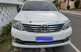 Toyota Fortuner 2015 G A/T GAS