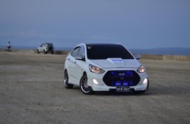 Fully Customized Hyundai Accent 2012 MT