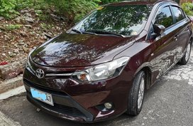 Selling Red Toyota Vios 2008 in Quezon City