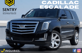 2020 CADILLAC ESCALADE BULLETPROOF INKAS ARMORING CANADA L6 BLACK - BEST DEAL OFFER!!!