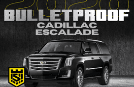 2020 CADILLAC ESCALADE BULLETPROOF INKAS ARMORING - LEVEL6