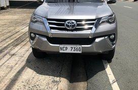 2017 Toyota Fortuner 4x2 2.4L V Diesel A/T  18,600 kms
