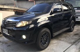Black Toyota Fortuner 2016 for sale in Manila