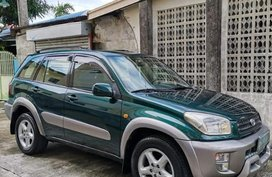 Green Toyota Rav4 2002 for sale in Manila