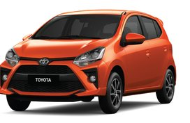 LOW DOWNPAYMENT PROMO! TOYOTA MC WIGO 1.0G AT 2020