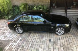 Selling Black Bmw M5 in Makati
