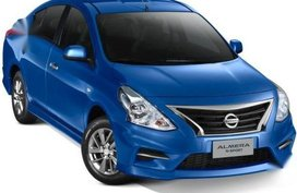 Selling Blue Nissan Almera in Parañaque