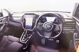 2021 Subaru Levorg leaked interior images hint massive touchscreen display