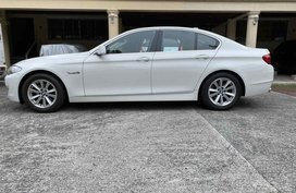 White Bmw 523I for sale in Quezon