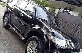 Black Mitsubishi Montero sport for sale in Sikatuna