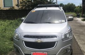 White Chevrolet Spin 2015 for sale in Bacoor