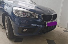 Blue Bmw 218i for sale in Manila