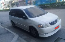 Selling White Mazda Mpv in Manila