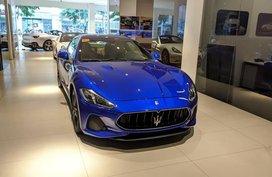 Selling Blue Maserati Granturismo in Manila