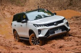 See new Toyota Fortuner go wild and dirty in off-road photos