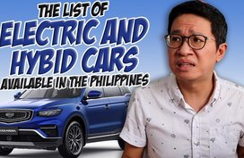 List of hybrid and electric cars available in the Philippines