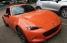 Selling Orange Mazda Mx-5 in Pasig