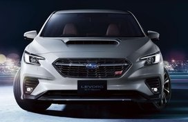 2021 Subaru Levorg officially unveiled before October debut