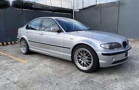 Silver Bmw 318I for sale in Pasay City
