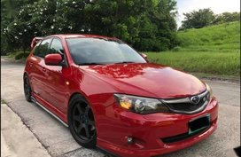 Sell Red Subaru Impreza in Pasig