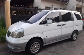 White Nissan Serena for sale in Marikina City