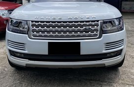 White Land Rover Range Rover for sale in Quezon City
