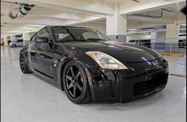 Black Nissan 350Z for sale in Pasig