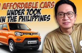 11 brand-new cars in the Philippines priced under P700K