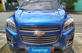 Blue Chevrolet Trax for sale in Mandaluyong City