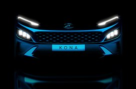 Hyundai teases us with a new sharper looking Kona