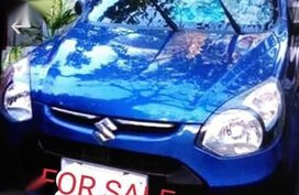 Blue Suzuki Alto 2017 for sale in Pasig City