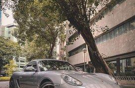 Selling Silver Porsche Cayman in Mandaluyong