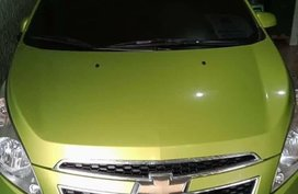 Sell Green 2011 Chevrolet Spark 1.0 Super (M) in Manila